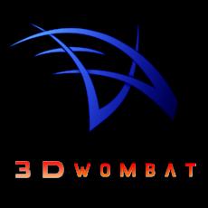 3Dwombat Logo
