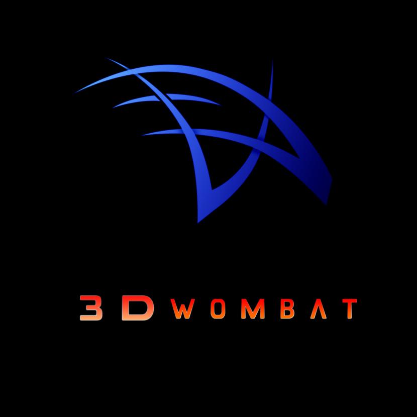 3Dwombat Square Logo