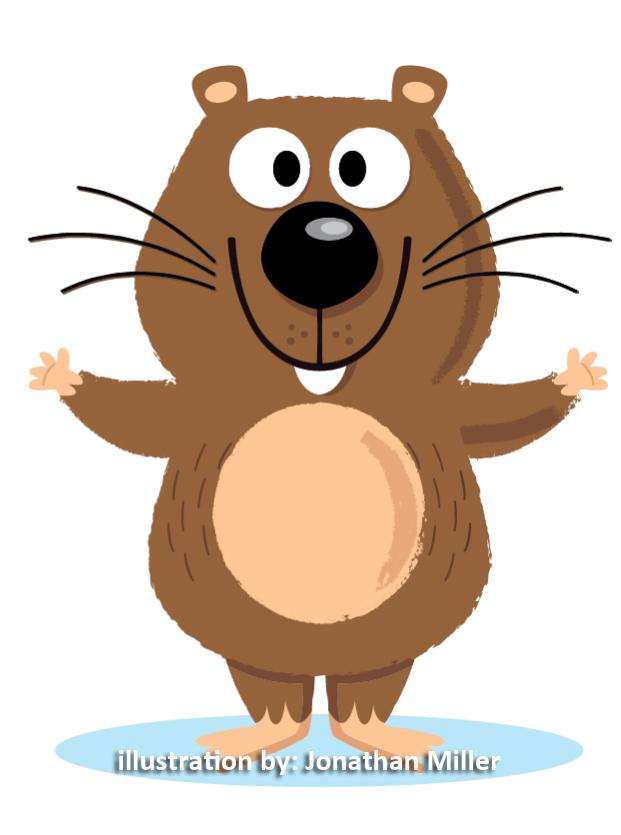 wombat mascott logo