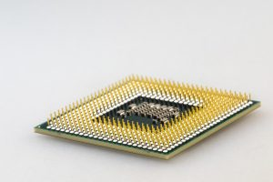 CPU upside down