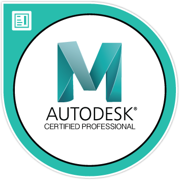Autodesk Certified Professionnal Logo