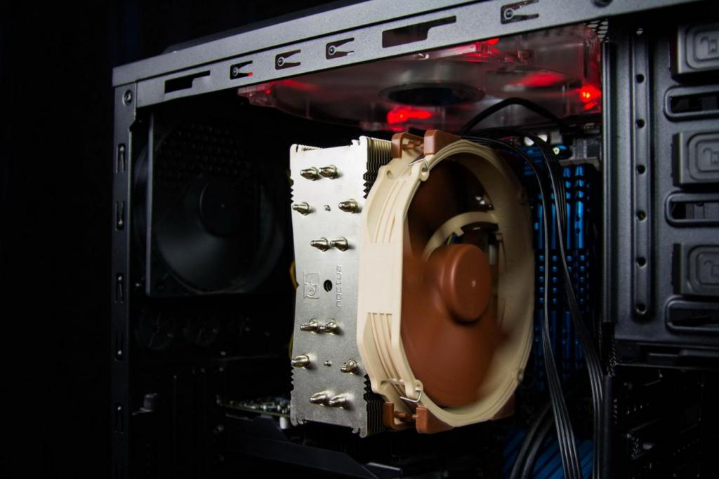 Custom CPU Fan and heatsink