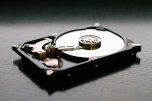 Open Hard Drive casing plates