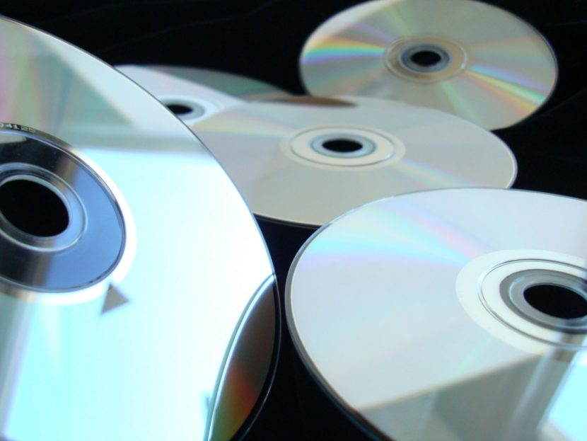 compact disc media