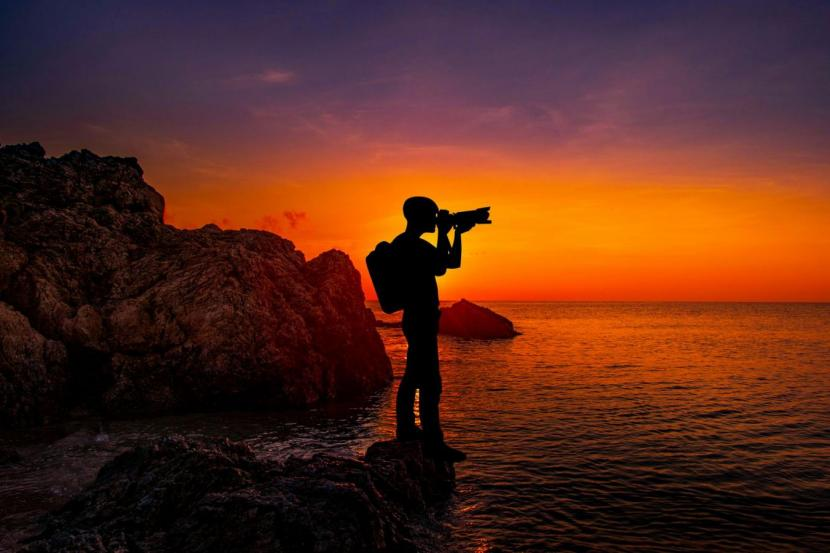 landscape photography hobby camera sunset