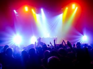 concert light show scene lighting